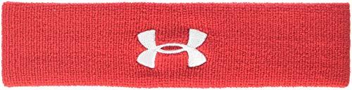 UA Performance Headband Stirnband, Rot, OSFA ()