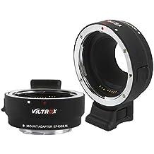 VILTROX EF-EOS M Adaptateur de Mise au Point Automatique pour Objectif Canon EOS EF/EF-S D/SLR vers Canon EF-M Monture sans Miroir EOS M100 M50 M3 M10 M6 M5
