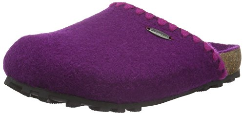 Giesswein Damen Sassnitz Pantoffeln Pink (392 veilchen)