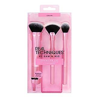 Real Techniques Sculpting set 1561  – kit de brochas de maquillaje 210 g, el empaque puede variar
