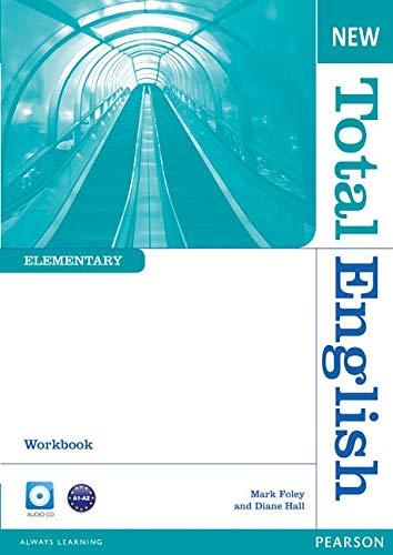 New Total English Elementary Workbook without Key and Audio CD Pack