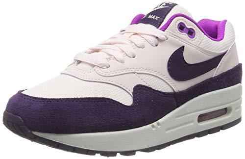 Nike Damen WMNS Air Max 1 Laufschuhe, (Lt Soft Pink/Grand Purple/Hyper Violet/Summit White 610), 38 EU