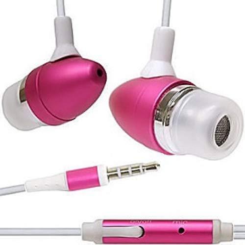 BedolioApple Universal Kopfhörer Noise Cancelling Kopfhörer Metall Smart Conversion Kopfhörer 3,5 mm Universal MP3 Computerspiele Musik Kopfhörer, rot - Mit Dvd-player Smart-tv Eingebaute