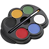 Segolike Face and Body Paint Palette Set for Kids (6 Colours)