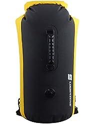60L Bolso Impermeable Para Acampada Deporte Al Aire Libre - Amarillo