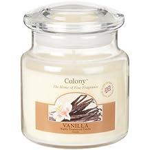 'Vanilla'Colony-Candela in barattolo, colore: