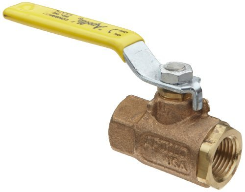 Apollo 70-140 Series Bronze Ball Valve with Stainless Steel 316 Ball and Stem, Two Piece, Inline, Lever, 3/4 NPT Female by Apollo Valve - Series Ball Valve