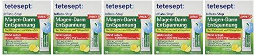 Tetesept Inflato-Stop Magen Darm Entspannung Overfill, 18 Stück, 5er Pack (5 x 18 Stück)