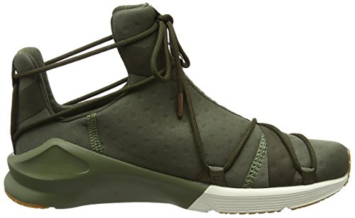 Puma Damen Fierce Rope VR Hallenschuhe Grün (Olive Night-Whisper White)