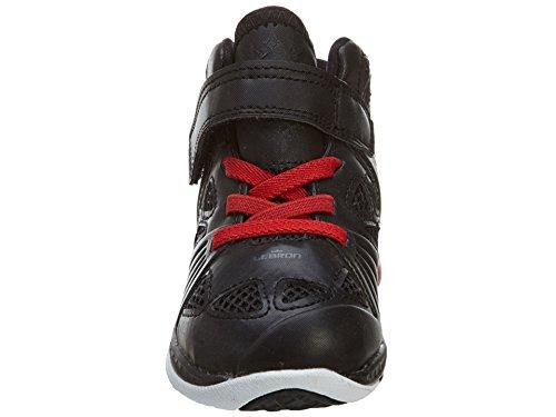 Nike Herren Air Jordan 1 Low Turnschuhe, Talla Black/Sport Red-White