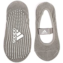 adidas ADYG-30102GR - Calcetines de yoga, color gris, talla M / L