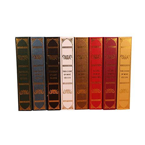 Biback Holz Antik Buch Box Simulation Buch Arbeitszimmer Requisiten Buch Dekoration Cafe Fotografie...