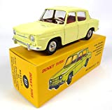 RENAULT 8 R8 JAUNE - DINKY TOYS ATLAS - NOREV VOITURE MINIATURE - 517