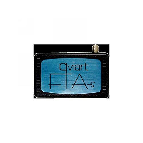QviART QVI01007 - Receptor (HDMI, USB) Color Negro