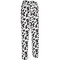 2019 Pantalones Mujer Verano Casual Pantalones De CháNdal Sueltos con Estilo De Vaca Impresos Joggers Imprimir Recto