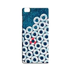 BLUEDIO Designer 3D Printed Back case cover for Xiaomi Mi5 / Mi 5 - G6273