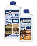 Lithofin ALLEX 1 l + Lithofin MN Außenreiniger 500 ml - gratis Reinigen von Natursteinen