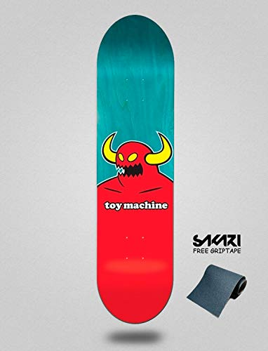 lordofbrands Toy Machine TM 8.00 Monster Monopatín Skate Skateboard Deck -