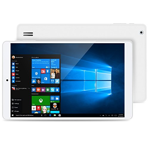 Teclast X80Pro Tablette PC (Windows10 Android 5.1 Dual OS Intel Cherry Trail Z8300 - Quad-Core - 8 Pouces 1920 X 1200 HD 2 RAM Go + 32 Go ROM Dual Caméras WIFI BT USB-OTG)