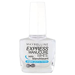 Gemey-Maybelline - Express Manucure  - Vernis à ongles soins  - White Soin Blanchissant ongles jaunes