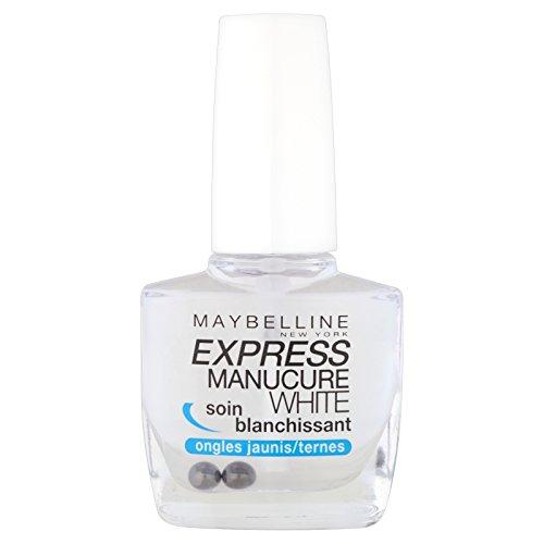 gemey-maybelline–Express Maniküre–Nagellack Pflege–Healing White Whitening Nägel...