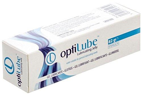 Optilube Sterile Lubricating Jelly, 82g Tube by Optimum Medical Solutions