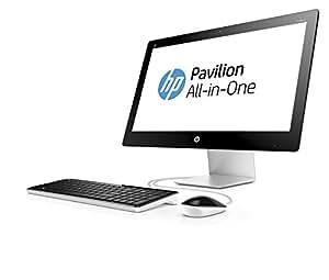 hp pavilion 23 q112nf ordinateur tout en un 23 full hd blanc intel core i5 4 go de ram. Black Bedroom Furniture Sets. Home Design Ideas
