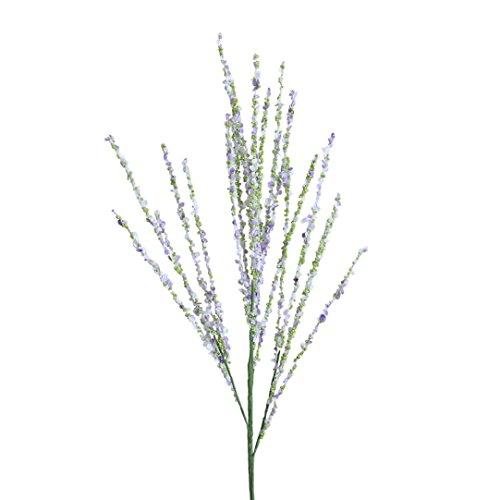 siconght Künstliche Blumen Blossom Simulation Künstliche Blumen-Arrangement Home Hochzeit Office Decor, 1AST violett