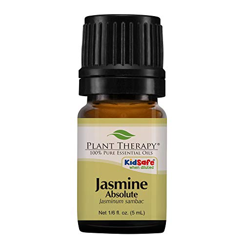 Jasmine Absolute Essential Oil. 5 ml (1/3 oz) 100% Pure, Therapeutic Grade.