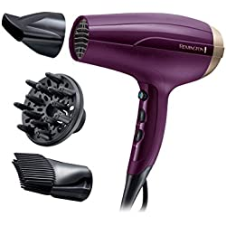 Remington Sèche-Cheveux Your Style Ionique, Anti-Frisottis, 3 Températures, Ultra Performant - Accessoires Inclus D5219