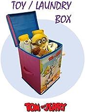Tom & Jerry Toys Organizer, Storage Box for Kids