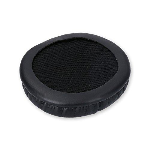 kwmobile 2X Ohrpolster für AKG K518 /K518DJ /K81 /K518LE Kopfhörer - Kunstleder Ersatz Ohr Polster für AKG Overear Headphones - 6