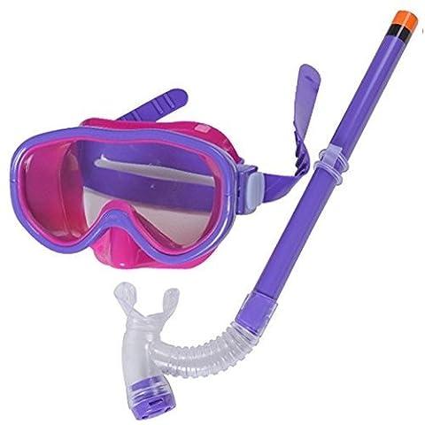 Purple New Cute Kid Child Swimming Scuba Anti Fog Goggles