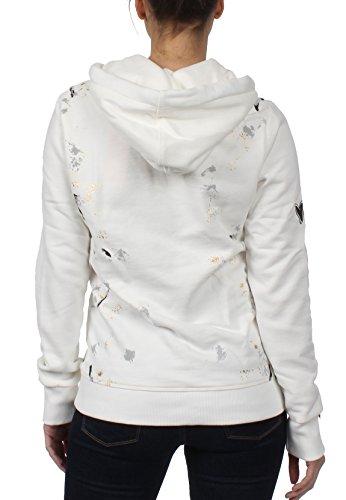 Superdry Sweater Damen PREMIUM GOODS DOODLE Heavy Metal Grey Weiß