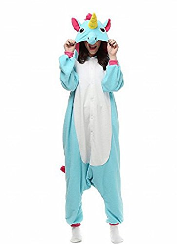 Landove animale pigiama unicorno adulto anime cosplay costume di carnevale halloween party onesie interotuta animali unisex regalo di compleanno natale