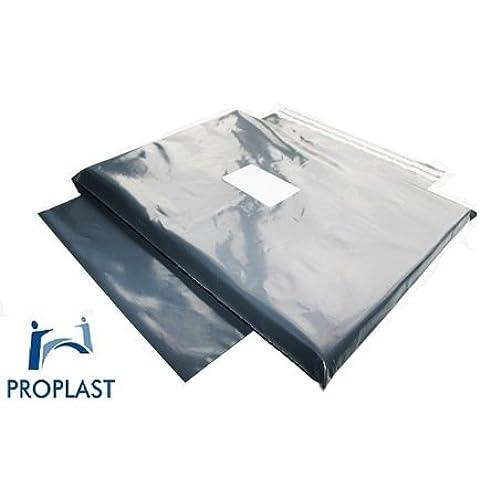 100 x Proplast Branded ® forte Grigio buste per spedizioni postali, JL000 10,16 x (4 15,24 cm x 6 cm - 1099 Busta