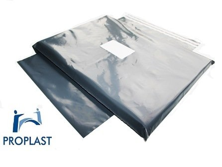 Pro Plast Branded ® STRONG GREY POSTAL MAILING BAGS,