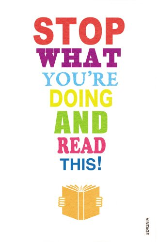 Stop What You're Doing And Read This! (Vintage) por Mark Haddon