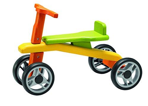 Geuther - Kindermöbel Mix Laufrad Buche Massiv 2963, Farbig Gebeizt, Räder aus Kunststoff, Sitzhöhe 24 cm