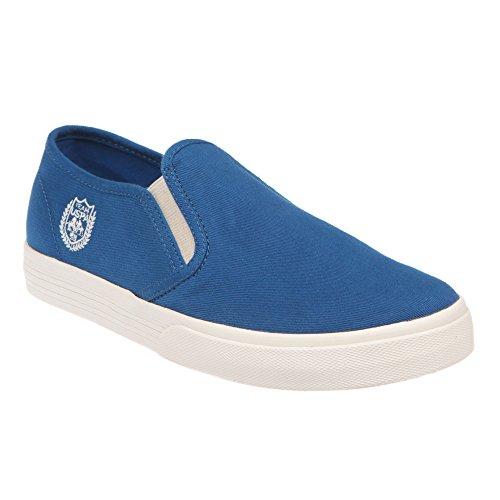 U.S. POLO Damenschuhe ohne Schnürsenkel Sneaker Style - mod. GALAD4185S7-CY1 Blau