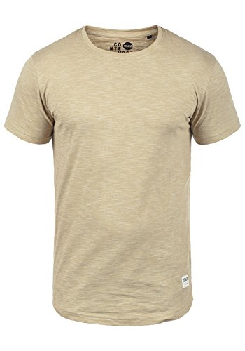 !Solid Figos Herren T-Shirt Kurzarm Shirt mit Rundhalsausschnitt aus 100{afe9179dcb180002bbe8b8739d9533689fbf586048b68721da42c63ade15b157} Baumwolle, Größe:M, Farbe:Sand (4073)