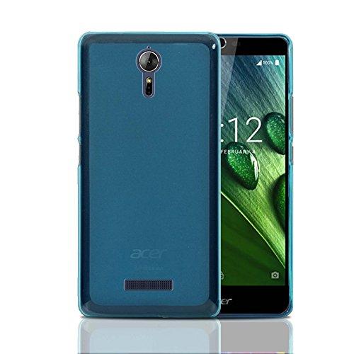 Funda Acer Liquid Zest Plus ,Ordica ES, Carcasa Liquid Zest Plus Silicona Transparente Anti Golpes Estuche Resistente Accesorios Divertidas Con Dibujos Azul