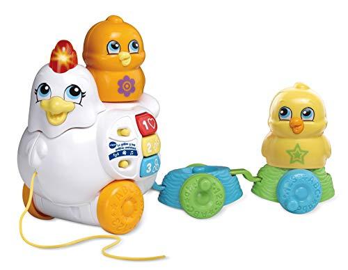 VTech-La La gallina y Sus Pollitos cantarines interactivos,...