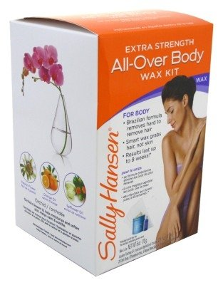Sally Hansen Extra Strength All-Over Body Wax Hair Removal Kit (2-pack)