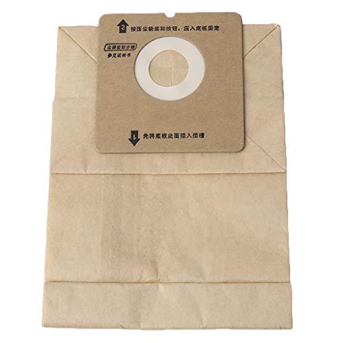 JunYe Universal-Staubsauger sackt Papierstaubbeutel für Rowenta ZR0049 / ZR0007, Staubsauger-Zubehör, EIN