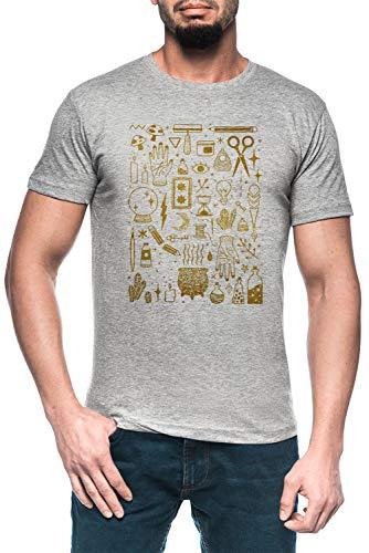 Grau T-Shirt Kurzarm Men's Grey T-Shirt ()