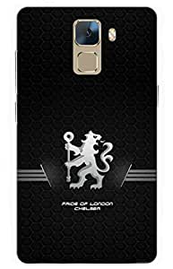 iessential football Designer Printed Back Case Cover for Huawei Honor 7