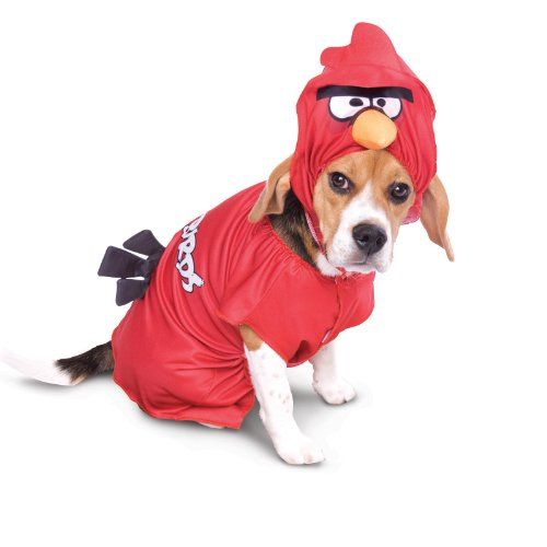 Papier Magie Rovio Angry Birds Red Bird Pet-Kost-m Klein