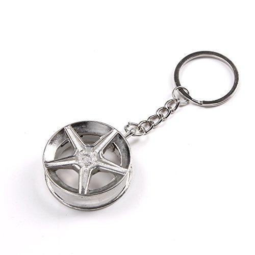 Preisvergleich Produktbild Felgen Schlüsselanhänger (Car Wheel Keyring)