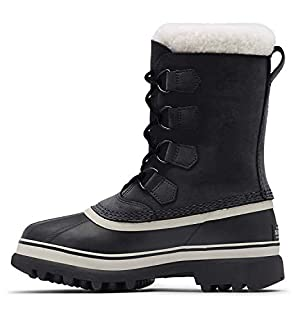 Sorel Women's Caribou Winter Boots, Black (Black/Stone), 4 UK 37 EU (B000EMRU2U)   Amazon price tracker / tracking, Amazon price history charts, Amazon price watches, Amazon price drop alerts